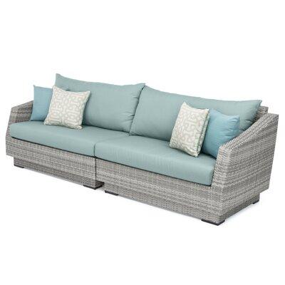 Castelli Patio Sofa with Sunbrella Cushions | Joss & Ma