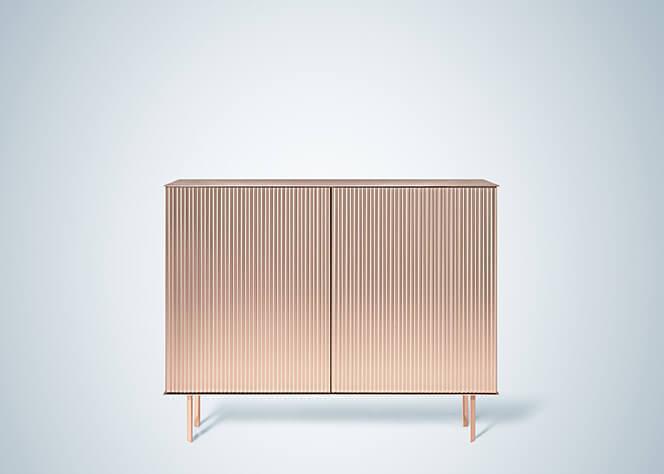 Elizabeth Sideboard by De Castelli, Designed by Nathalie Dewez .