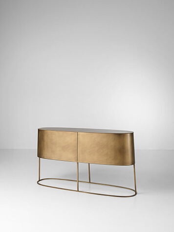 Lancelot Sideboard by De Castelli, Designed by Philippe Nigro .