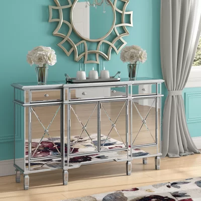 Castelli Sideboard | Mirrored furniture, House of hampton, Furnitu