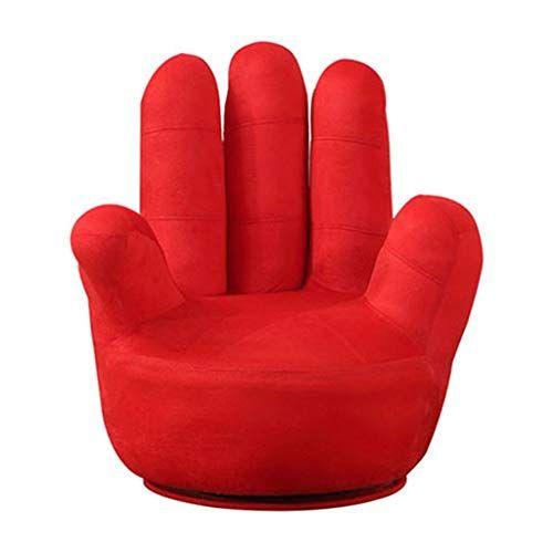 LJM- Lazy Sofa, Single Creative Finger Sofa Chair Fabric Five .