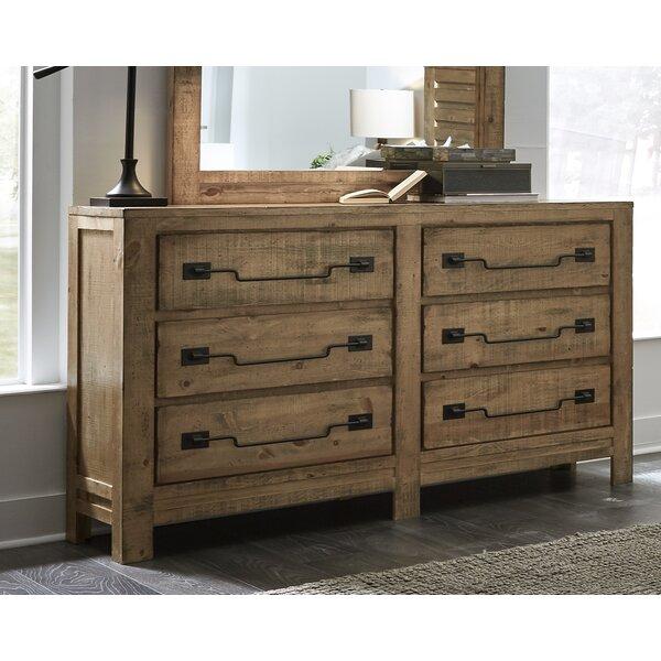 Gracie Oaks Chaffin 6 Drawer Double Dresser | Wayfa