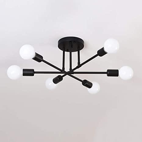 Amazon.com: Hsyile Lighting KU300229 Modern-Industrial Style .