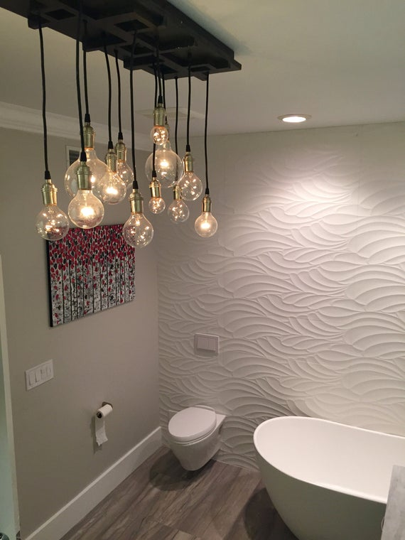 Bathroom Chandelier Bathroom Lighting Vanity Lighting | Et