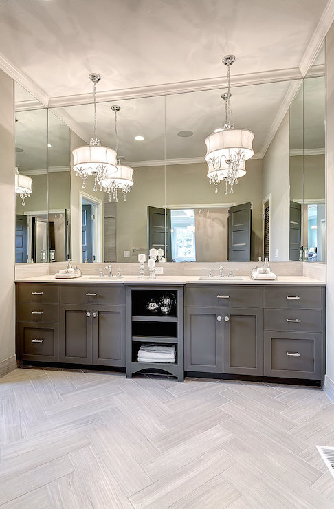 Vanity Chandeliers - Transitional - kitchen - Clark and Co Hom