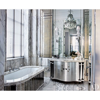 Bathroom Chandelier Ideas | Architectural Dige