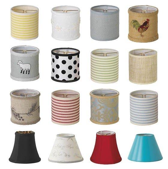 Mini Chandelier Lamp Shades - Ideas on Fot