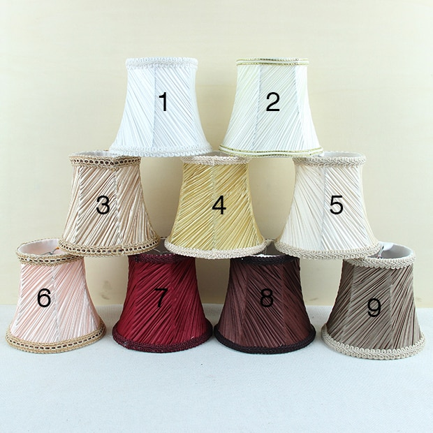 New!!! Mini lamp shade chandelier, Lamp Covers, colorful wall .