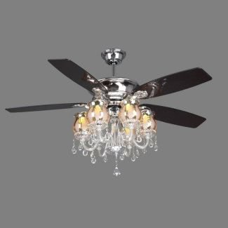 Crystal Ceiling Fan Light Kit - Ideas on Fot