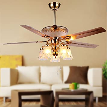 RainierLight Modern Ceiling Fan Remote Control 5 Reversible Metal .