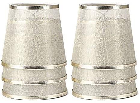 YISUN Set of 6 Crystal Chandelier Mini Lamp Shade 5.5-inch, Bell .