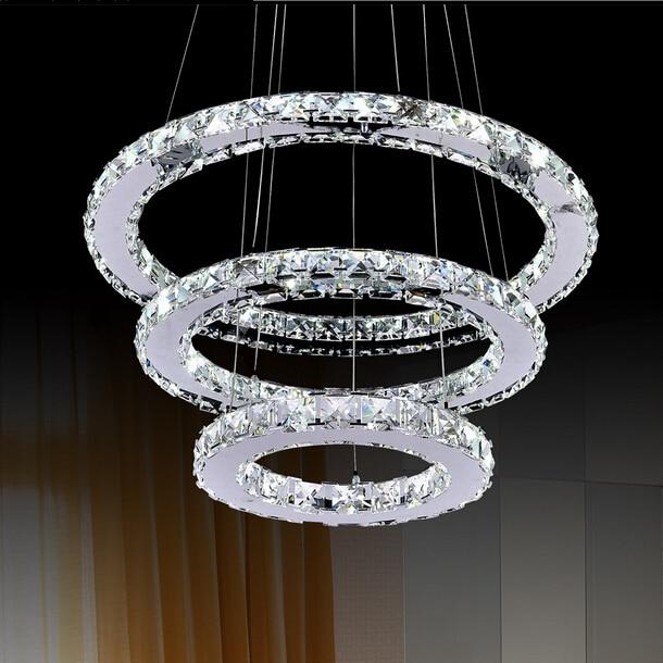Hot sale LED Crystal Chandelier Light Modern chandelier lamp .