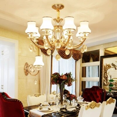 Modern Gold Metal Led Pendant Chandelier Lights Living Room .