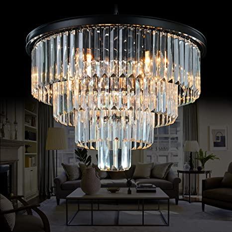 Meelighting 9 Lights Crystal Modern Contemporary Chandeliers .