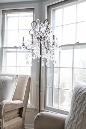 Chandelier Floor Lamps - Ideas on Fot