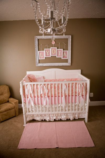 Sweet Vintage Dreams - Project Nursery | Baby decor, Baby girl .