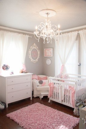 Chandeliers For Girl Nursery