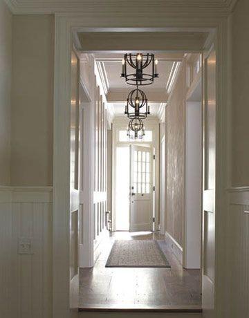 Hallway chandeliers | Hallway chandelier, Beautiful homes, Ho