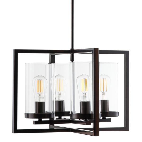 Verona 4 Light Kitchen, Dining Room, Hallway Chandelier | Linea .