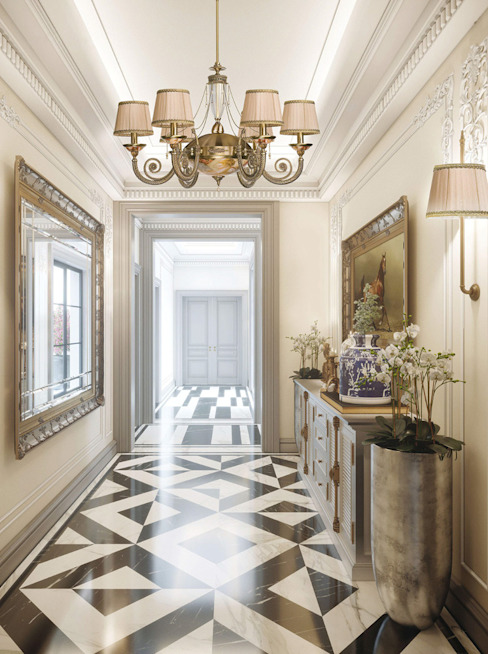 First-class hallway lighting designs by Luxury Chandelier | homify .