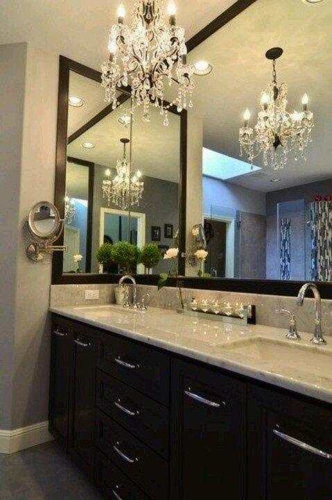 How to choose the best bathroom chandelier Interiordesignshome.com .