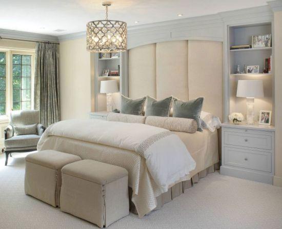 37 Startling Master Bedroom Chandeliers That Exudes Luxu