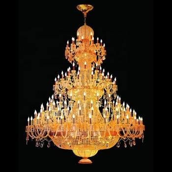 Custom Big Crystal Chandelier With Factory Cheap Price For Project .