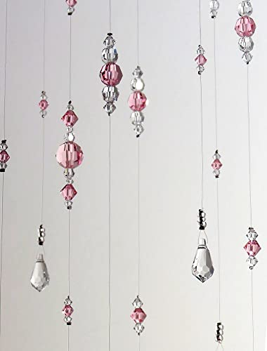 Amazon.com: Small Light Pink Baby Girl Room Idea Swarovski Crystal .