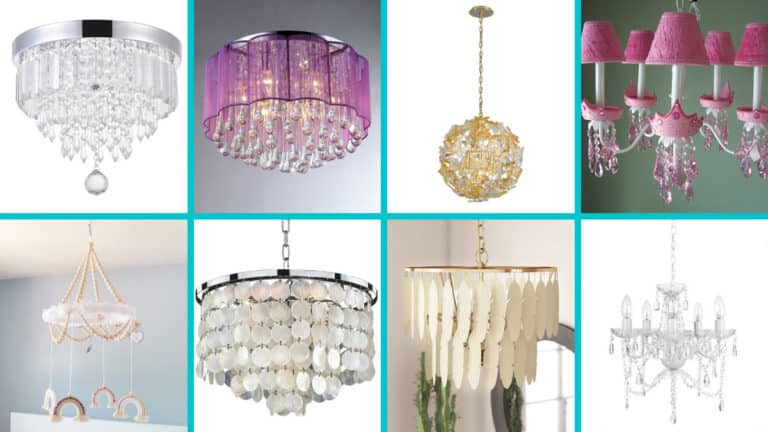 Pick the Perfect Chandelier for a Baby Girl Nurse