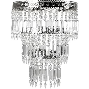 Amazon.com: Tadpoles Faux-Crystal & Chrome Queen's Crown Shade .