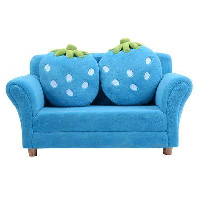 Zoomie Kids Kennon Kids Sofa | Kids sofa, Kids couch, Kids furnitu