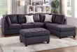 3PCS Sectional (Ottoman Included) - color optio