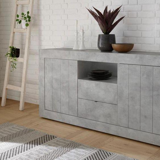 Lc Sideboard »Urbino« grau Beton FSC®-zertifiziert in 2020 | Grau .