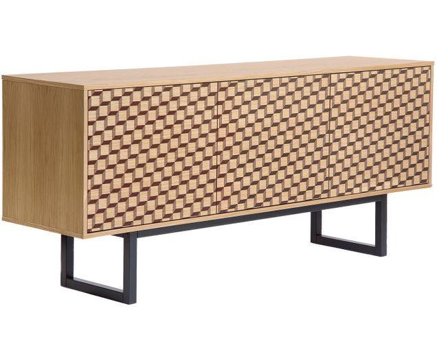 Design-Sideboard Camden in Holzoptik | Side board, Wohnzimmer .