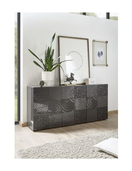 Buffet in 2020 | Modern sideboard, Furniture, Colored dining chai