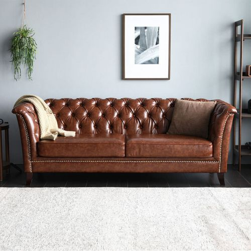Neil Chesterfield Sofa | Living Room Furniture SG | Online Sofas .