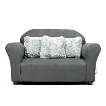 Amazon.com : Keet Plush Childrens Sofa with Accent Pillows .