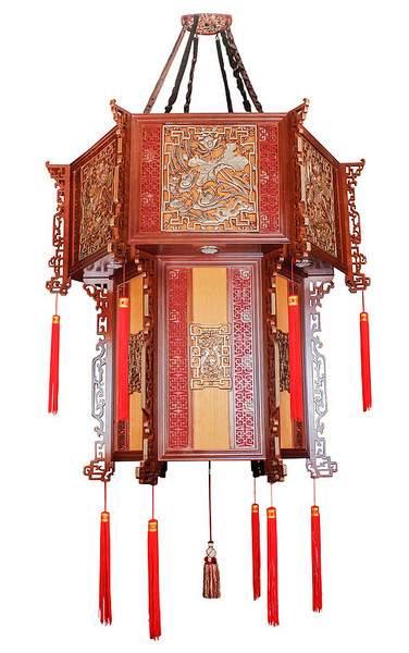 Chinese-style Lamp,Decorative Lighting,Chandelier,Cage lamp,1616A .