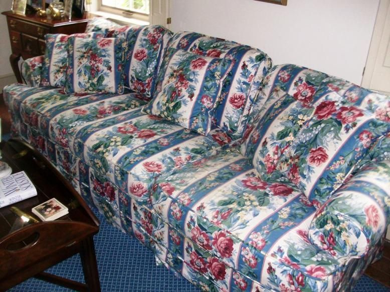 Chintz Fabric Sofas in 2020 | Chintz fabric, Fabric sofa, Floral so