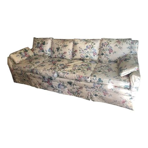 Chintz Floral Sofa | Floral sofa, Sofa, Beautiful sof