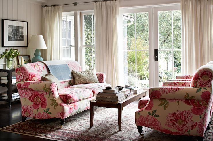 Chintz Sofa Design Ide