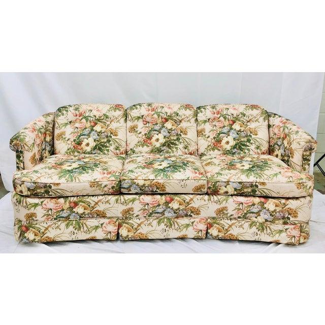 Vintage Floral Chintz Sofa | Chairi