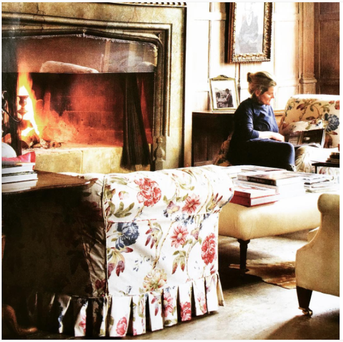 english country, english cottage, updated english country, chintz .