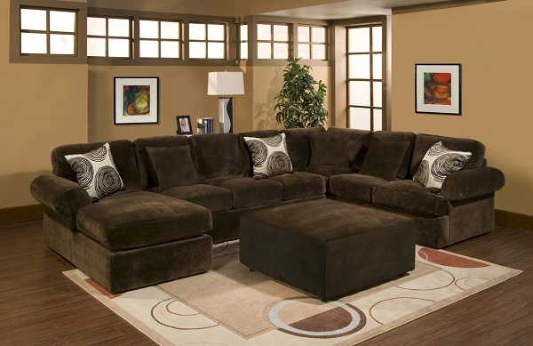 Bradley Chocolate Sectional - Shop for Affordable Home Furniture .