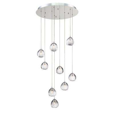 Modern - 4 & Up - Crystal - Chrome - Chandeliers - Lighting - The .