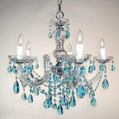 House of Hampton Gresham 5-Light Candle Style Classic .