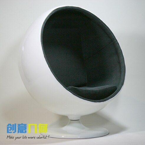 Free shipping single circular sofa chairs minimalist modern .