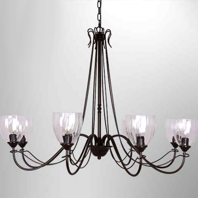 Northic Clear Glass Shades Chandelier 7460 : Archi, Lighti