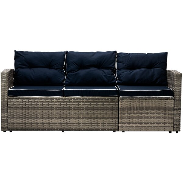 Longshore Tides Clifford Patio Sofa with Cushions | Wayfa