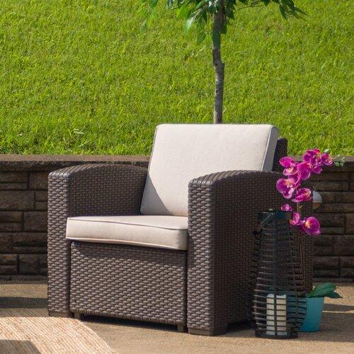 Breakwater Bay Clifford Patio Sofa with Cushions & Reviews   Wayfa